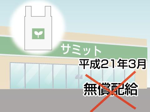 レジ袋有料化に踏み切れない中小スーパーマーケット