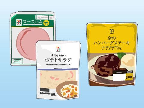現代のライフスタイルに合った食品類の提供