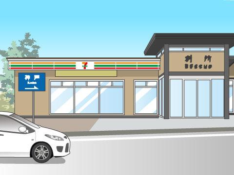 セブン‐イレブンの高速道路店舗