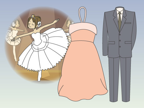 パーティーやオペラ観賞のTPOファッション