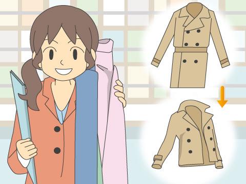 服のリメイク