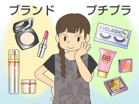ドラッグストアで購入できる主な化粧品