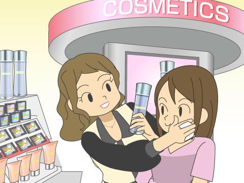 カウンセリング化粧品