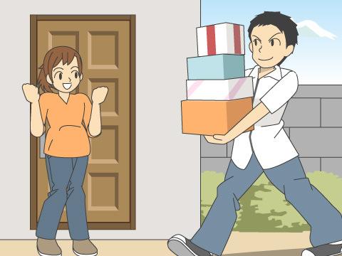 便利な宅配サービス「とどけ~る」