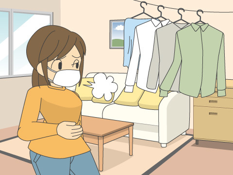 部屋の湿度・温度を上げる