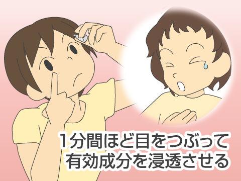 点眼薬の正しい使い方、注意点など