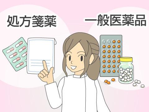 処方せん薬(調剤薬)と一般医薬品(OTC薬)の違い