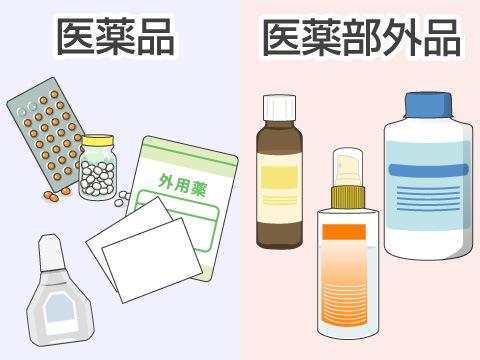 OTC医薬品と医薬部外品の違い