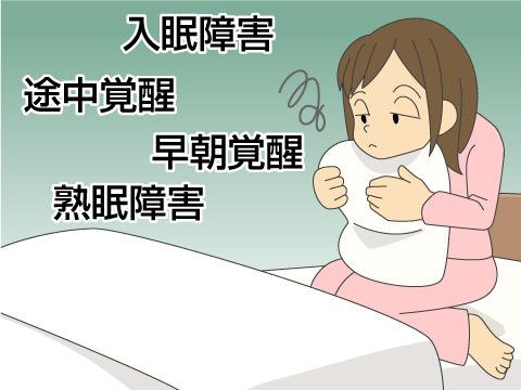 不眠の原因、対策