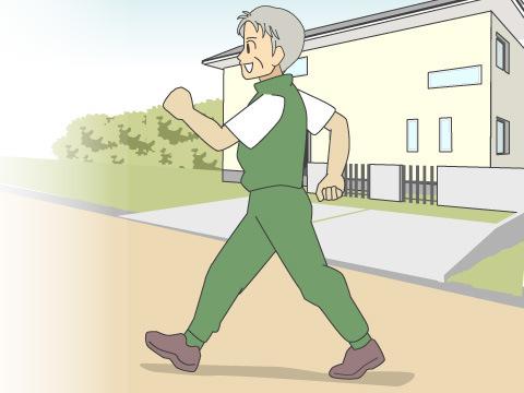 高齢者による生涯スポーツ