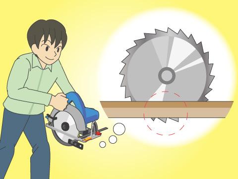 電動丸ノコの基本