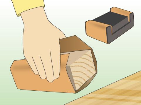 サンドペーパーの使い方