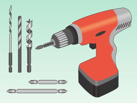 ネジ締めや穴あけに欠かせない電動道具