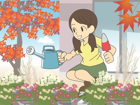 秋のガーデニングプランの考え方