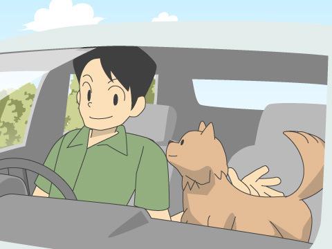ペットとドライブをするために