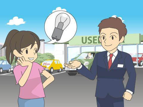 中古車を購入する際に注意したいヘッドランプのポイント