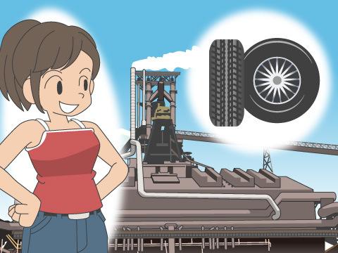 日本初のタイヤ工場設立