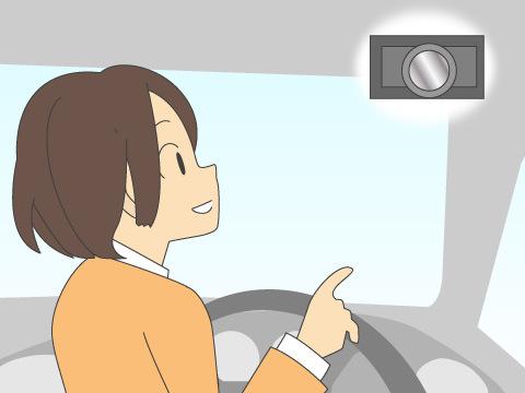 車載用防犯カメラ