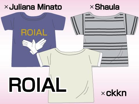 「ROIAL」と人気モデルとのコラボ