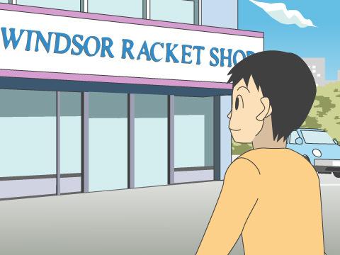 代表的なテニス専門店