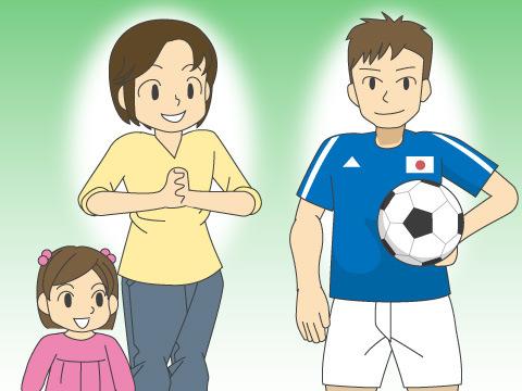 サッカー日本代表の人気のすごさ