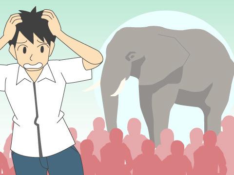 甲子園に象を連れ込んだ高校