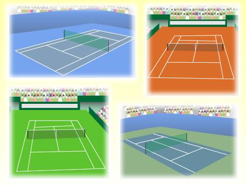 テニスプレイヤーが夢見る四大大会