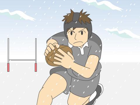 ラグビーは紳士のスポーツ