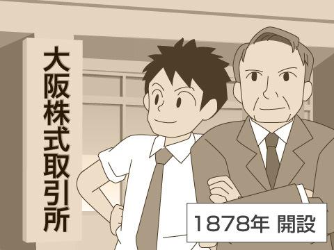 大阪証券取引所の歴史
