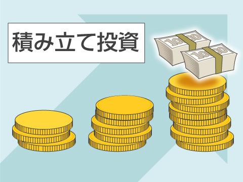 積み立て投資のメリット