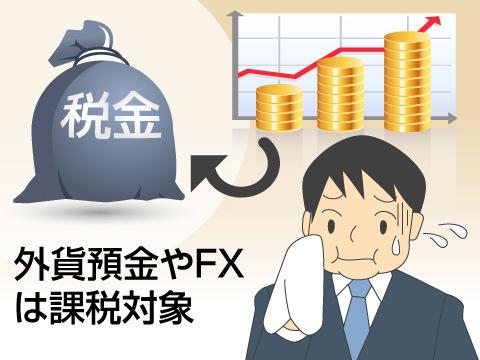 為替差益にかかる税金