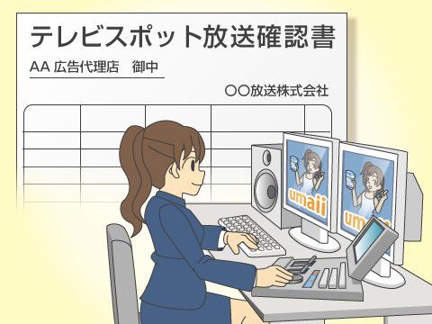 放送時における広告代理店とテレビ局の任務
