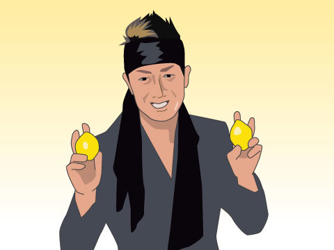 レモンを持たずに表紙を飾った唯一の人、長渕剛さん