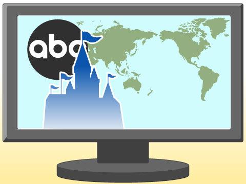世界最大の放送局ABCはディズニーのグループ会社