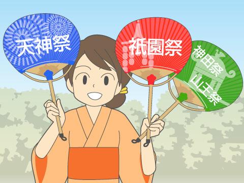 日本の三大祭り