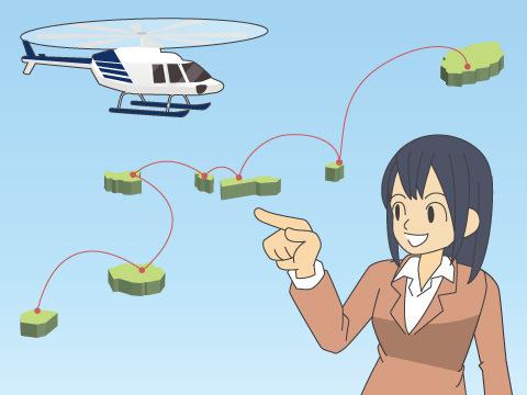 近距離専門の航空会社