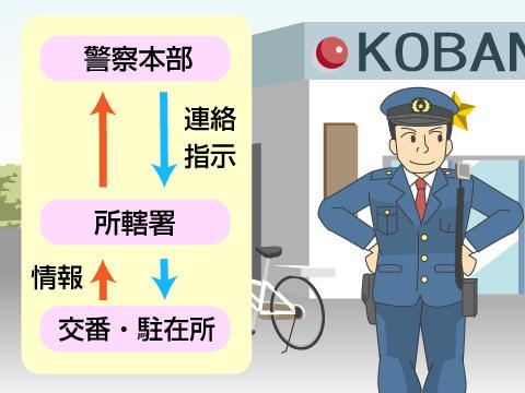 警察本部と所轄署の関係