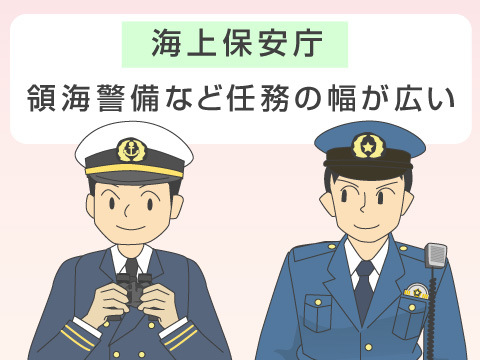 海上保安庁との違い