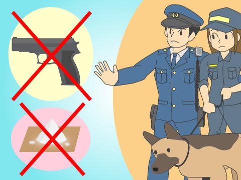 空港警察の仕事
