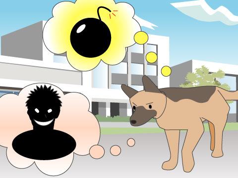 警察犬と警備犬