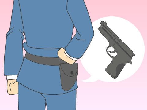 取り扱いが厳重な拳銃