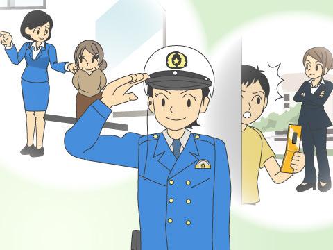 各部署で活躍する女性警察官