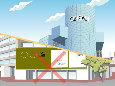老舗映画館のシネコン化