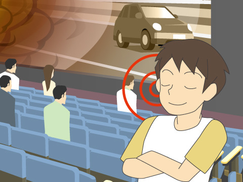 音響・映像ともに充実したシネコンが人気