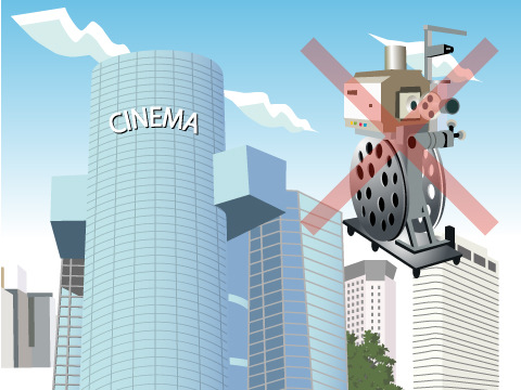 デジタル上映の増加で消えゆくフィルム上映