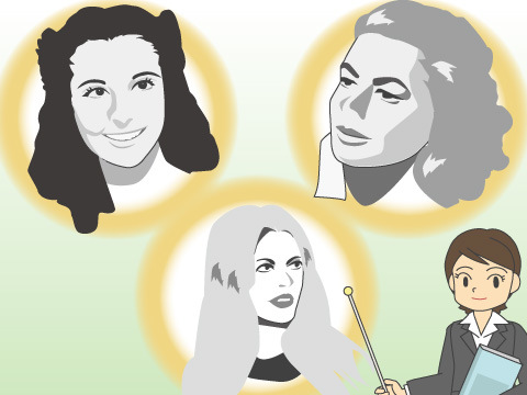ハリウッド黄金期を彩った多国籍な美女たち