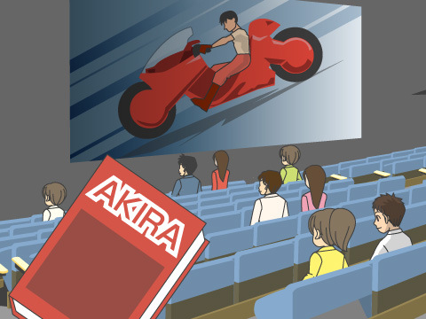 「AKIRA」で日本のコミックス、アニメが世界水準に!