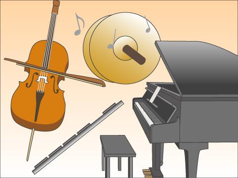 クラシック音楽のための楽器
