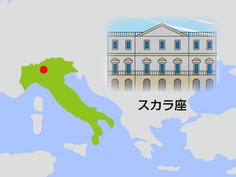 スカラ座(イタリア)