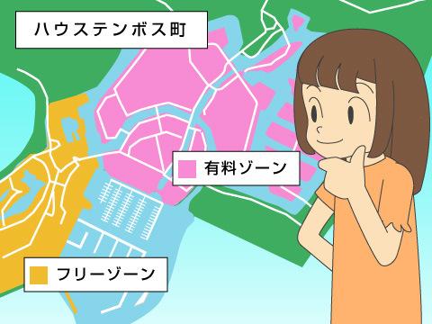 街としてのテーマパークの楽しみ方